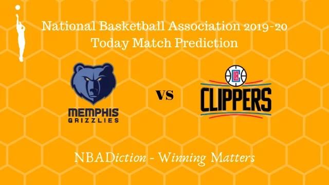 grizzlies vs clippers prediction 28112019 - Grizzlies vs Clippers NBA Today Match Prediction - 28th Nov 2019