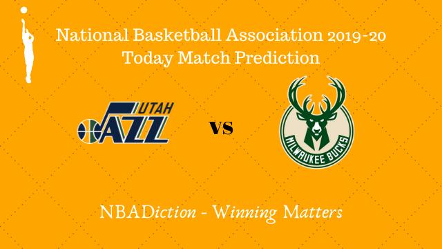 jazz vs bucks 09112019 - Jazz vs Bucks NBA Today Match Prediction - 9th Nov 2019