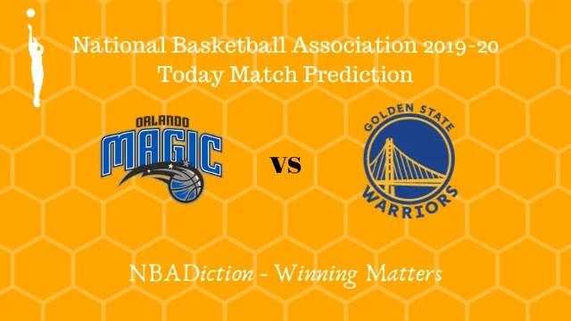magic vs warriors prediction 02122019 - Magic vs Warriors NBA Today Match Prediction - 1st Dec 2019