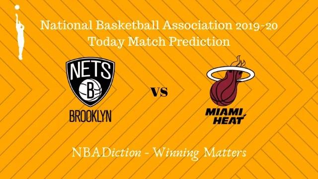 nets vs heat prediction 02122019 - Nets vs Heat NBA Today Match Prediction - 1st Dec 2019