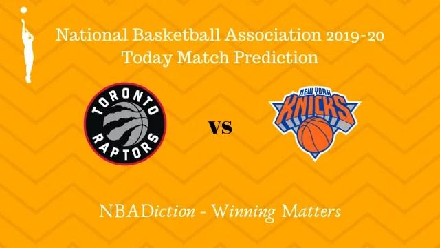 raptors vs knicks prediction 28112019 - Raptors vs Knicks NBA Today Match Prediction - 28th Nov 2019