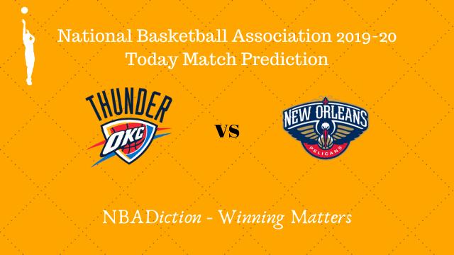 thunder vs pelicans prediction 30112019 - Thunder vs Pelicans NBA Today Match Prediction - 30th Nov 2019