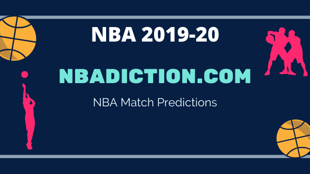 NBADiction NBA match prediction - 2019-20 NBA - 25th January 2020 Predictions and Betting Tips