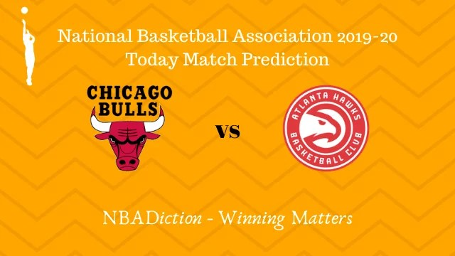 bulls vs hawks prediction 12122019 - Bulls vs Hawks NBA Today Match Prediction - 12th Dec 2019