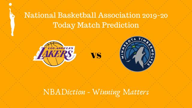 lakers vs timberwolves prediction 09122019 - Lakers vs Timberwolves NBA Today Match Prediction - 9th Dec 2019