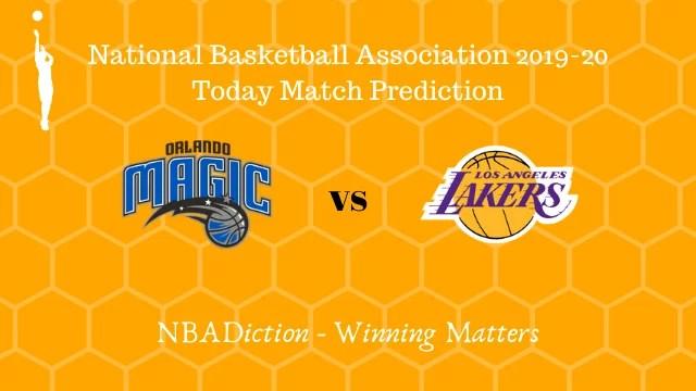 magic vs lakers prediction 12122019 - Magic vs Lakers NBA Today Match Prediction - 12th Dec 2019