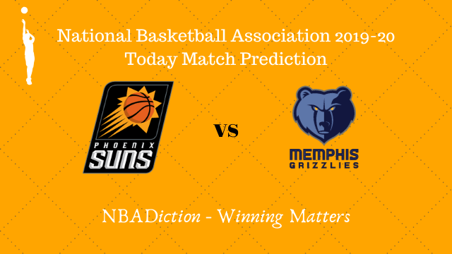suns vs grizzlies prediction 12122019 - Suns vs Grizzlies NBA Today Match Prediction - 12th Dec 2019