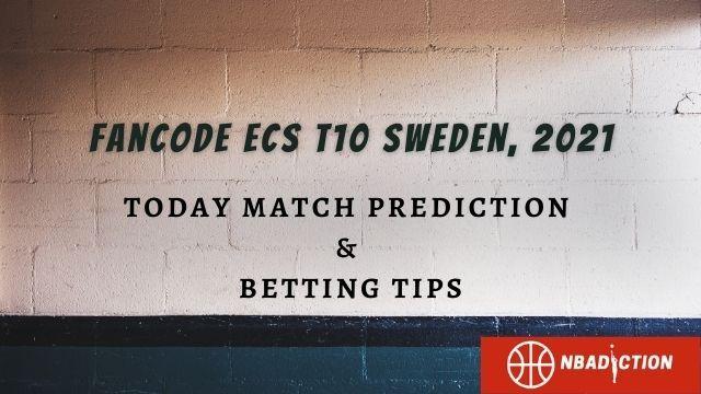 ecs t10 sweden 2021 today match prediction tips - MAR vs HUD Today Match Prediction, 24 Jul 2021 - ECS T10 Sweden