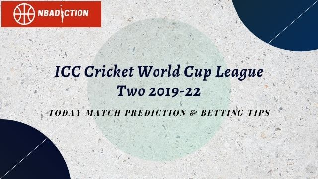ICC Cricket World Cup League Two 2019 22 nbadiction - Scotland vs PNG 4th Match Prediction & Betting Tips, 29 Sep 2021