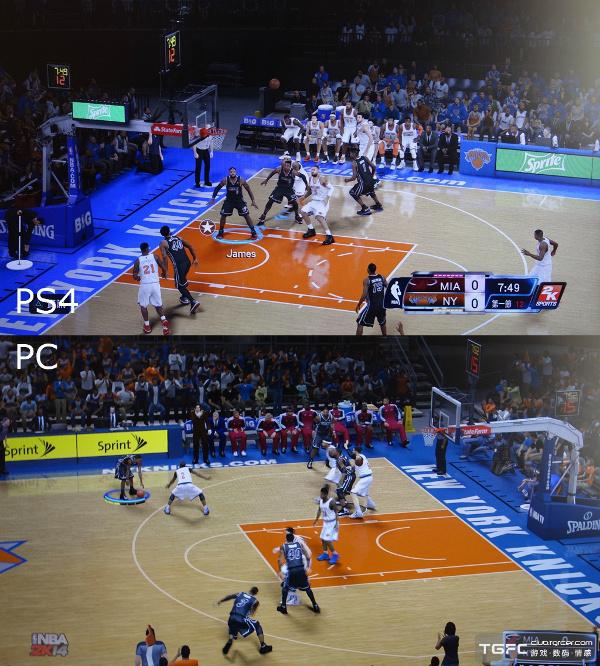 NBA 2K14 Next-Gen & PC Comparison   Gaming Stop  Nba 2k14 Graphics Comparison
