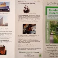 Brilliant Birmingham Greenways map and a journey with bonuses