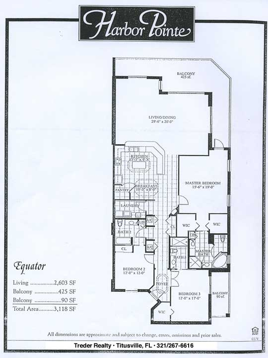 Harbor Pointe Condominium Floor Plans