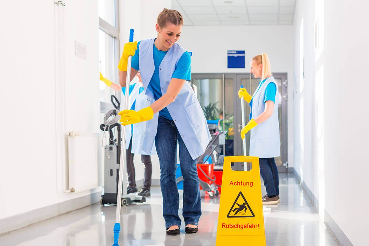 Northbay Maintenance General Cleaning Hospital Hallway Mopping