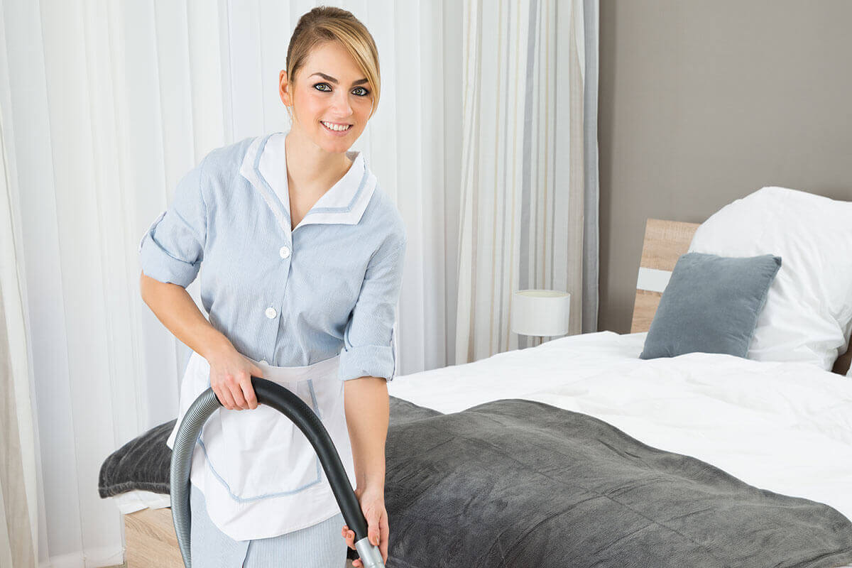 Northbay Maintenance Services Hotel Room Vacuum Cleaning img1