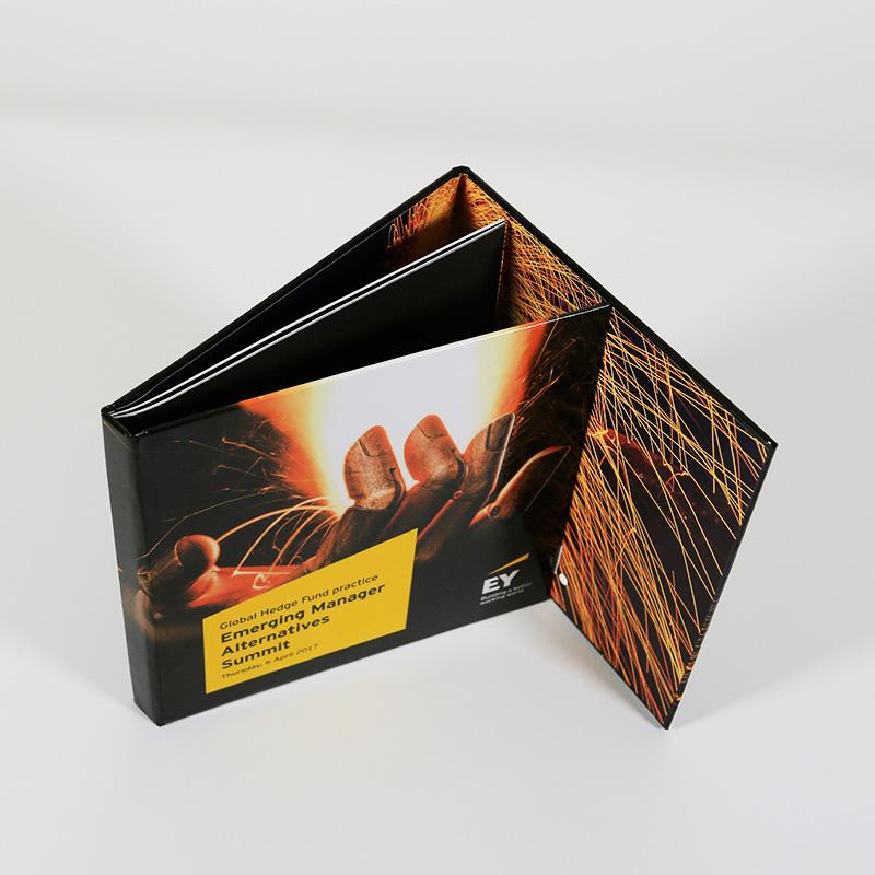 Custom 3 Panel Book