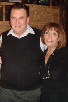 Pat Benkowski and Salerno's owner, Victoria Lia