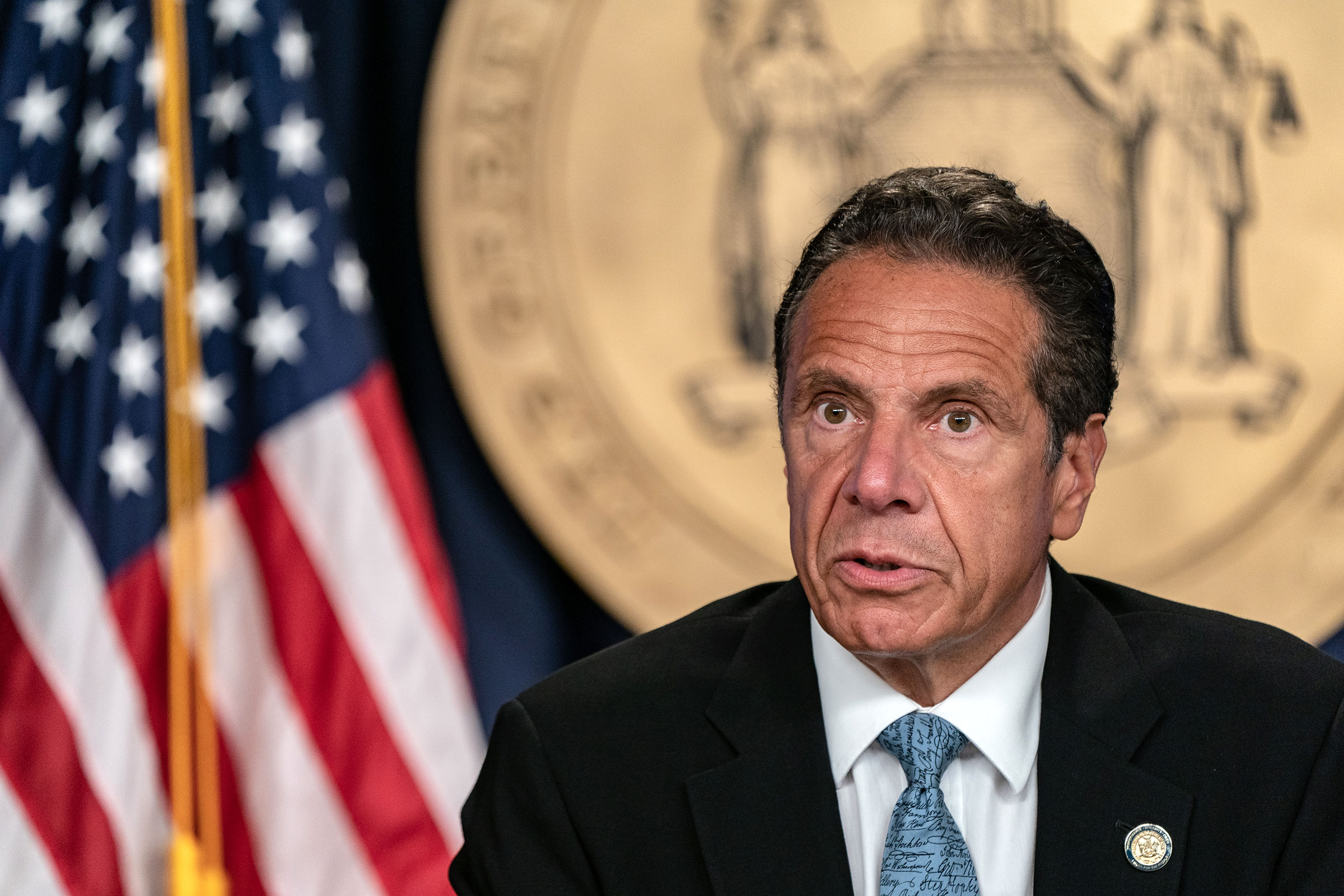 Father, fisherman, motorcycle enthusiast, 56th governor of new york. NY Gov. Andrew Cuomo reverses course on family ...