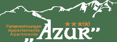 Grafik Logo Ferienwohnungen Azur Saas-Fee
