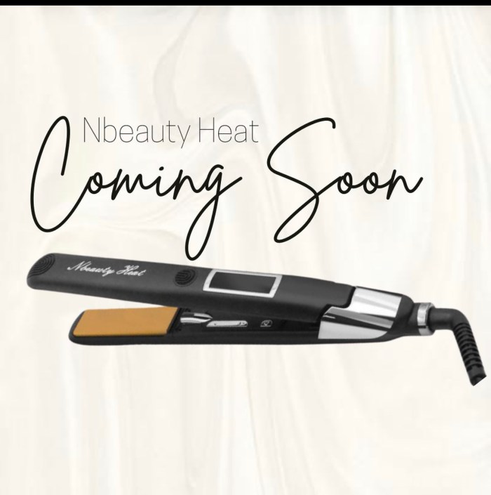Nbeauty Heat Flat Iron