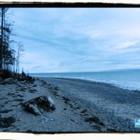 Rathtrevor Beach waves