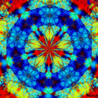 Cosmic Mushroom Odyssey Fractal