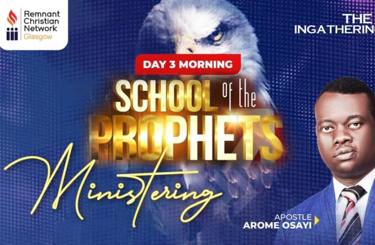 RCN UK: Download the School of Prophets by Apostle Arome Osayi