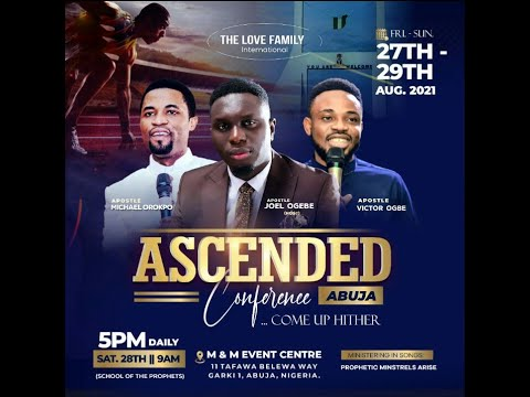 (Ascended Conf. 2021): Download Come up Hither by Apostle Michael Orokpo
