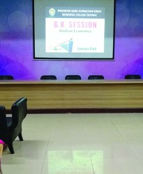General Awareness Session on Indian Economy