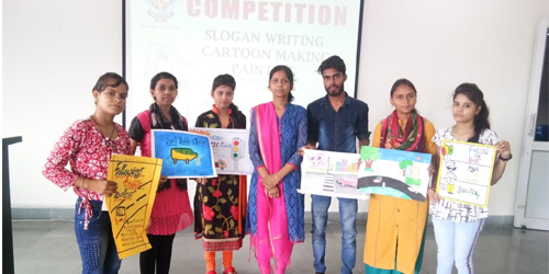 Slogan Writing and Cartoon/Painting competition