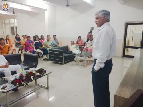 Vote of thanks given by Executive President, Mr. R.S. Manhas