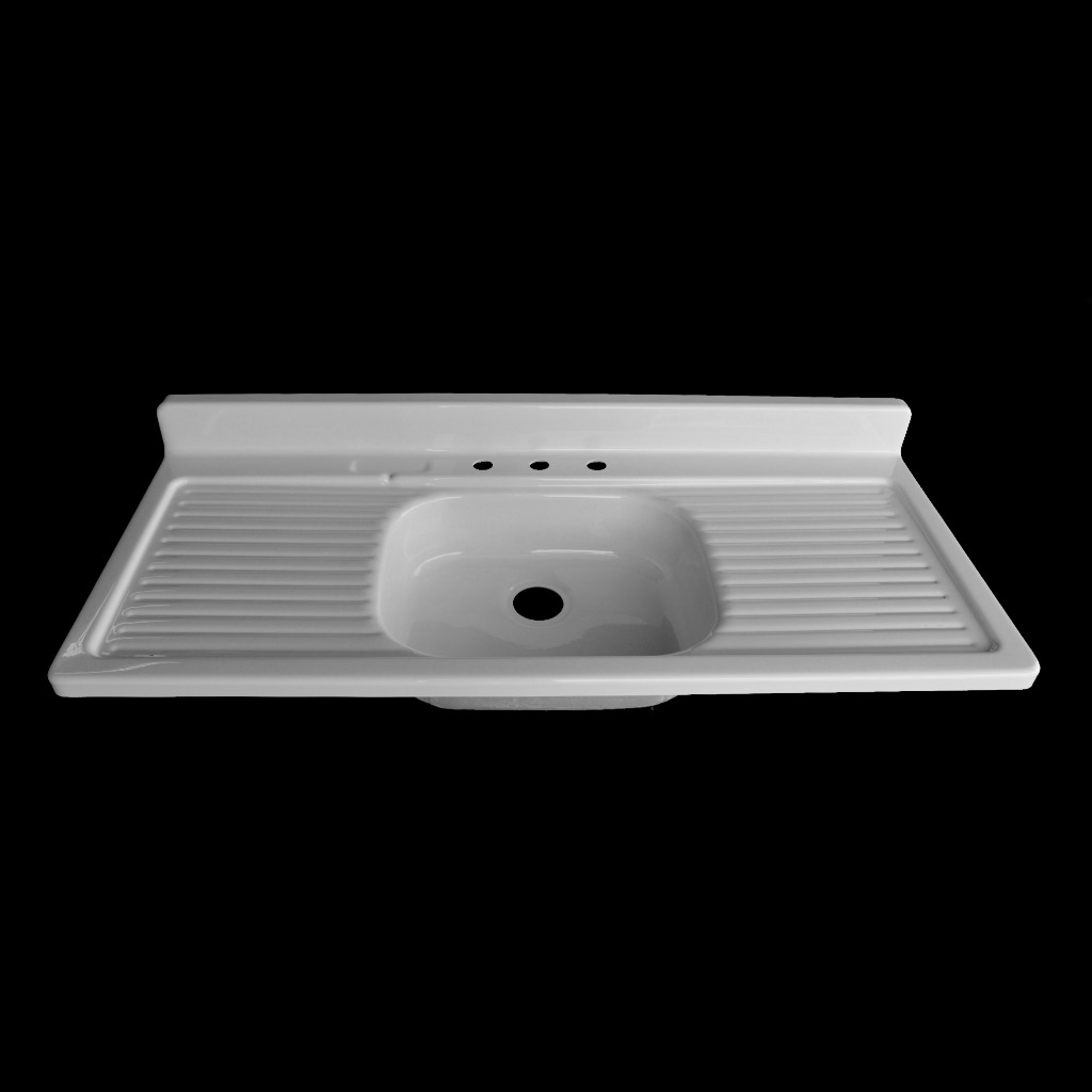 single bowl with double drainboards model sbdw5424