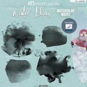 nbk-WINTERBLUES-watercolormasks