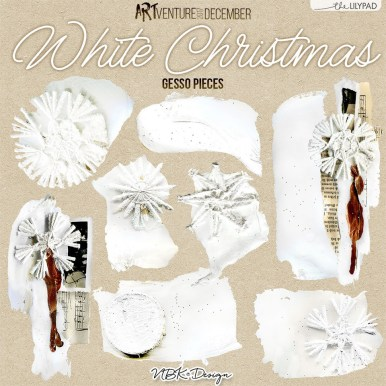 nbk-whitechristmas-gessopieces