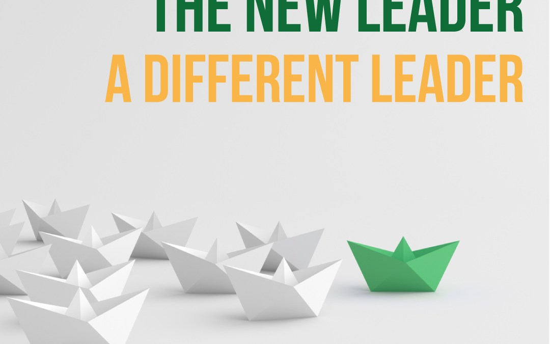 The New Leader. The Different Leader.