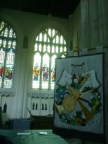 Tapestry and side windows