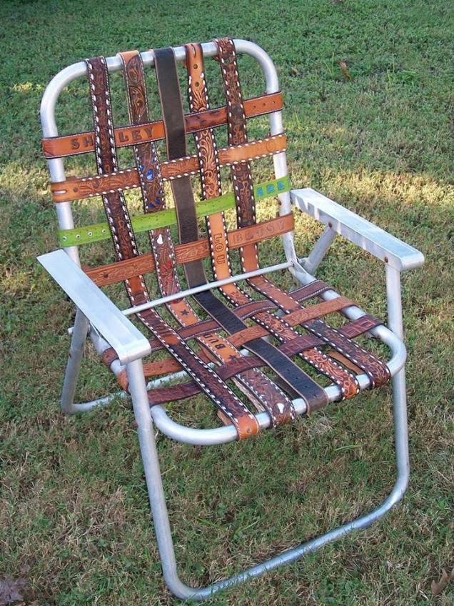 belted chair via grow veg