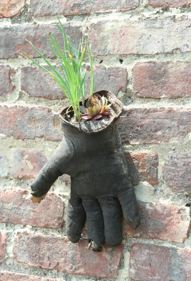 Give plants a hand..