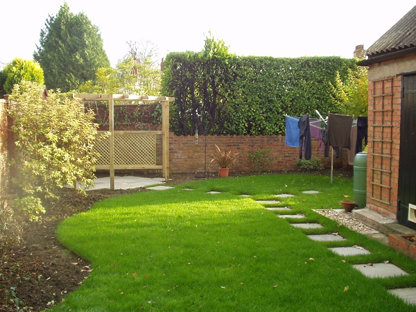 Awkward Garden Shapes Old School Garden