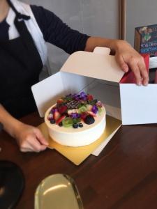 アトリエ結心ケーキ