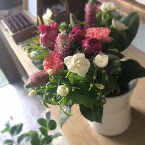 シャクヤクの花束