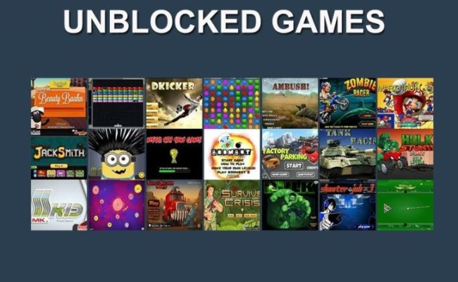 Top 10 Best Unblocked Games You Can Enjoy At School Or Work