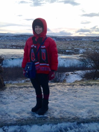 Frozen landscapes!
