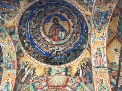 Paintings at Rila Monastery