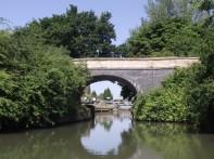 St John's Bridge & Lock beyord