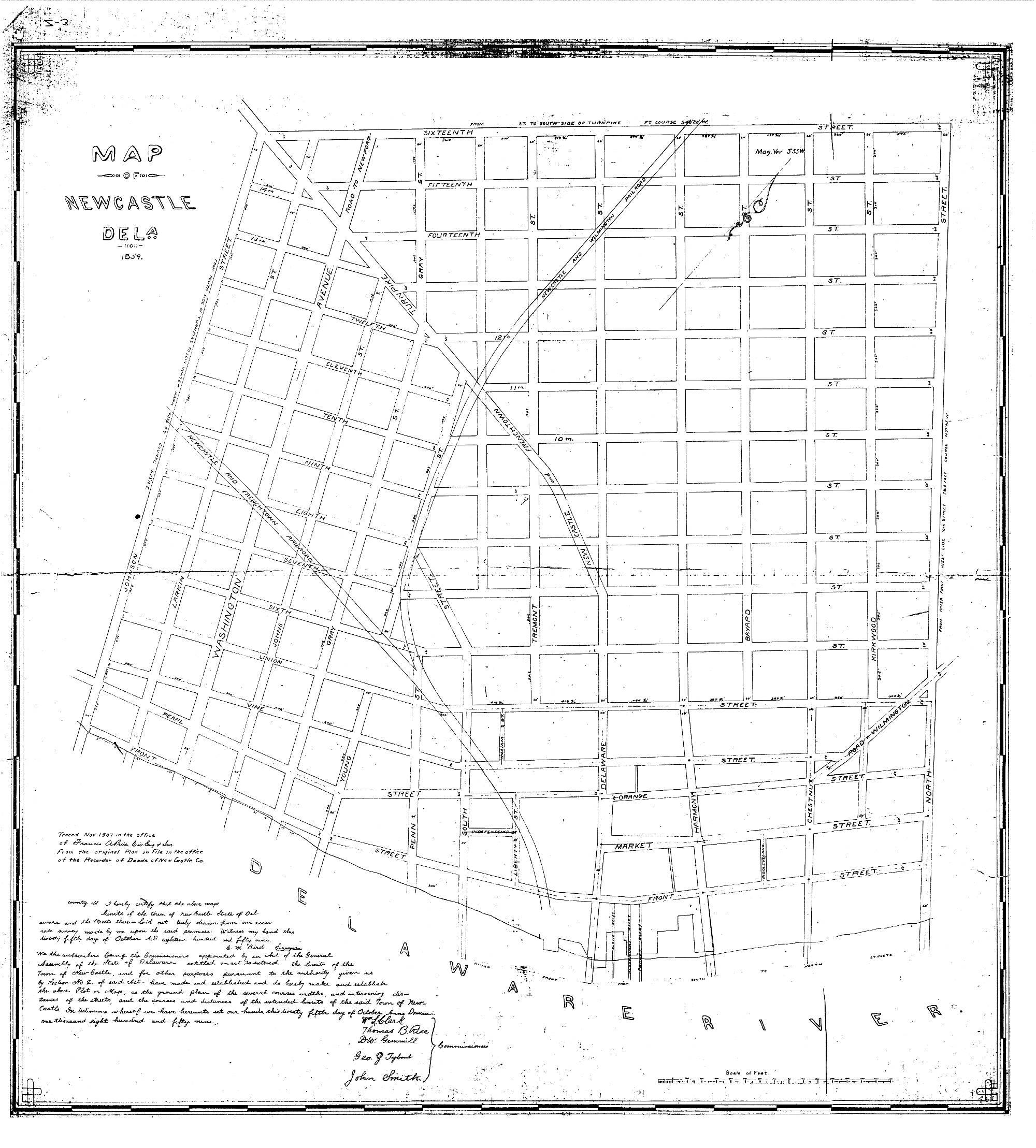 Augustine Herman Map