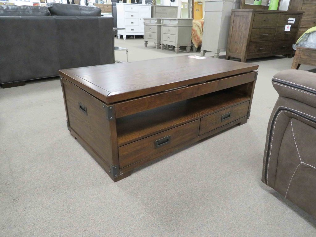 Lift Top Cherry Cocktail Table Heavner Furniture Market