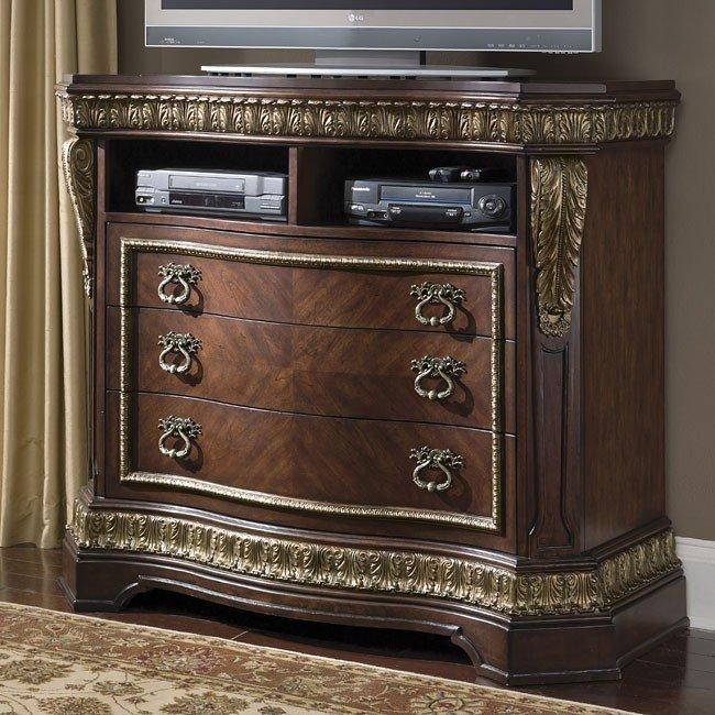 Del Corto Media Chest Heavner Furniture Market