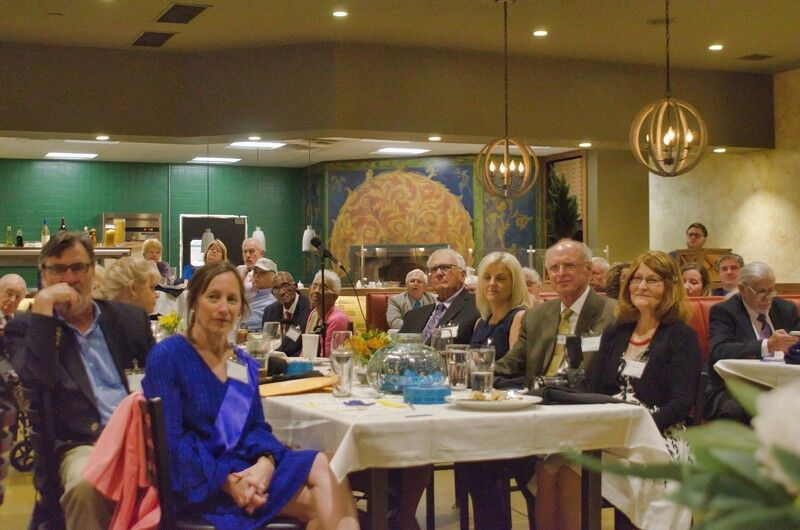 Blue Wave Bonanza Dinner honors local citizens, features 2020 Candidates.
