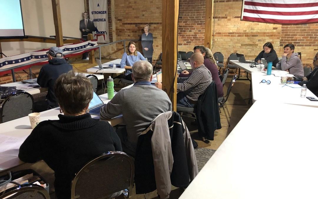 Lincoln & Polk County Vote Builder Training