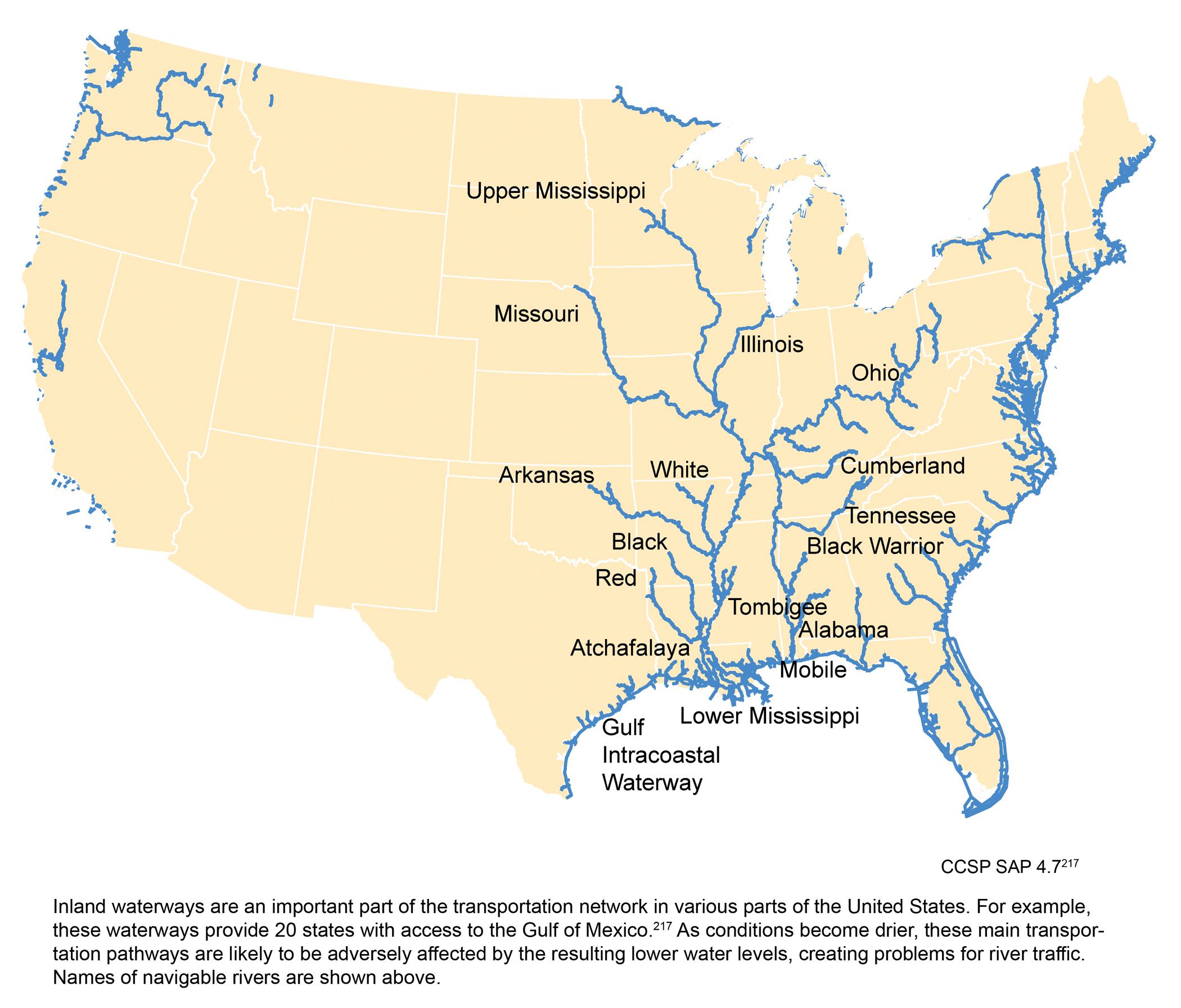Navigable Inland Waterways